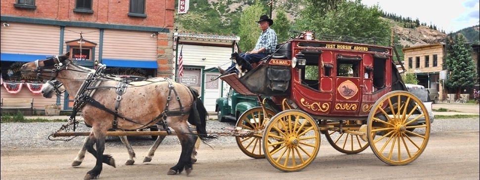 Silverton Stage Coach With Sonny & Cher