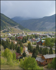 Overview of Silverton, Colorado